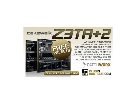 Plugin Boutique Z3TA + 2 Free Presets