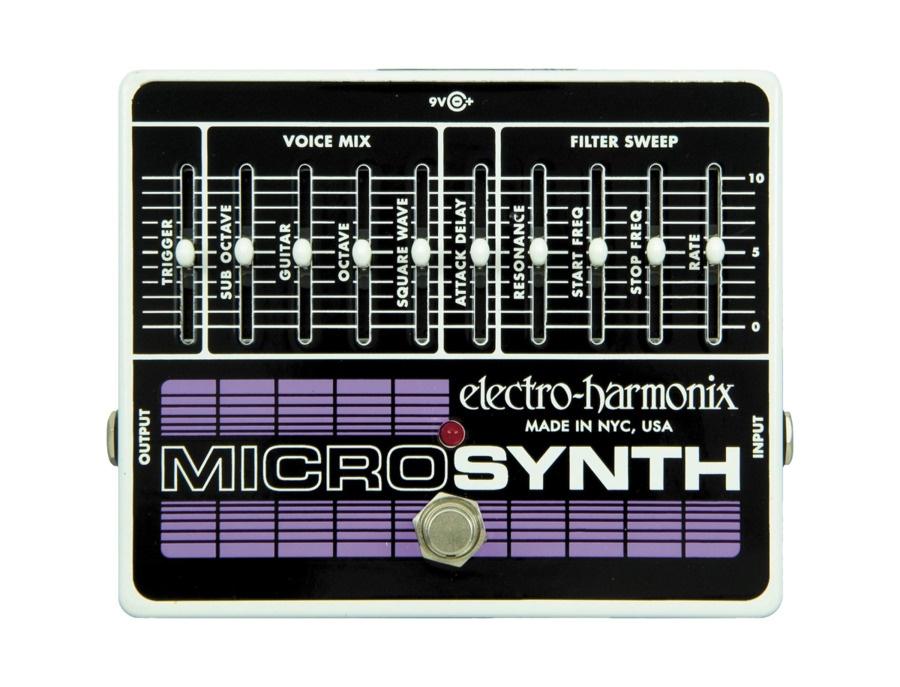Electro harmonix microsynth xo pedal xl