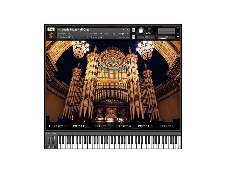 Samplephonics The Leeds Town Hall Organ (un-active)