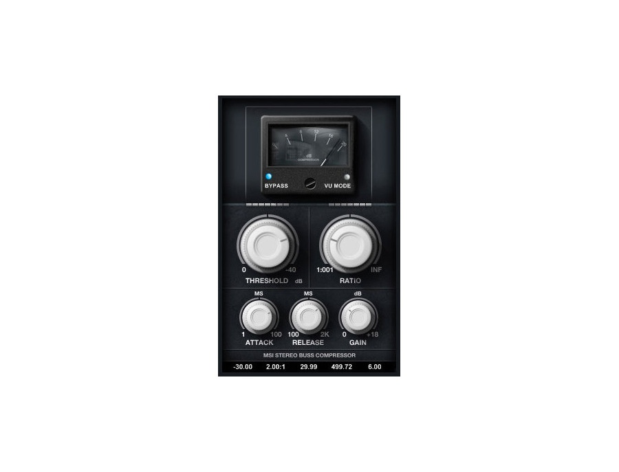 Minimal System Group Stereo Buss Compressor