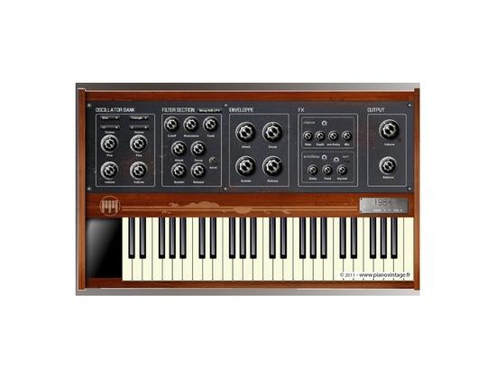 Piano Vintage 1984