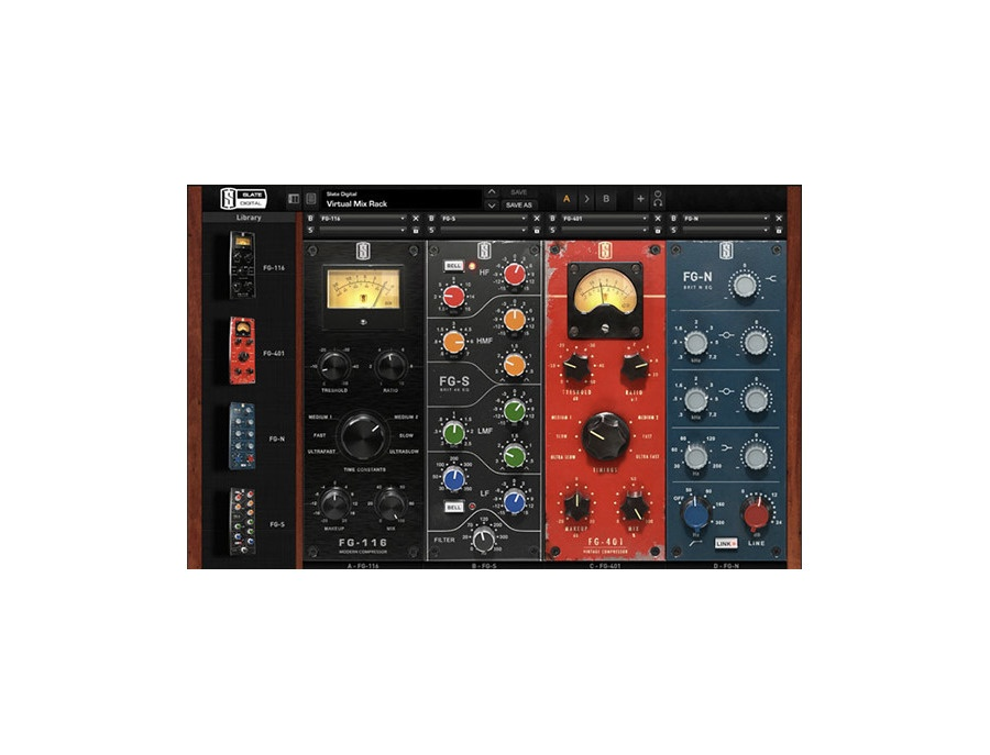 Slate digital virtual mix rack xl