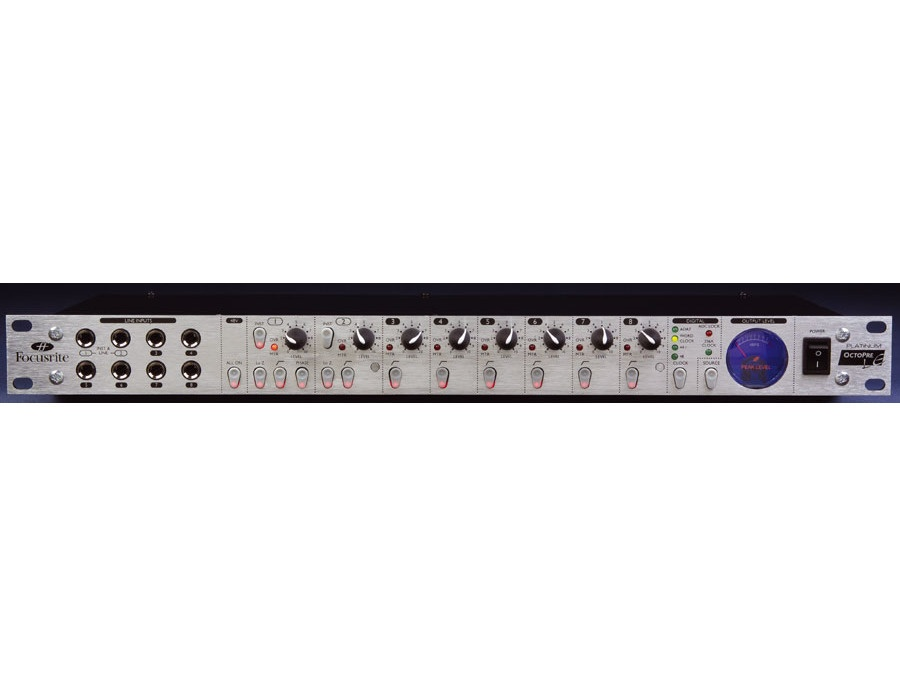 Focusrite Platinum Octopre (without ADAT option card)
