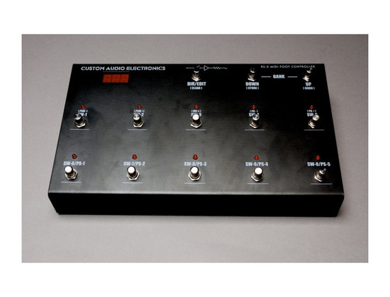 Custom Audio Electronics RS-5 MIDI Foot Controller