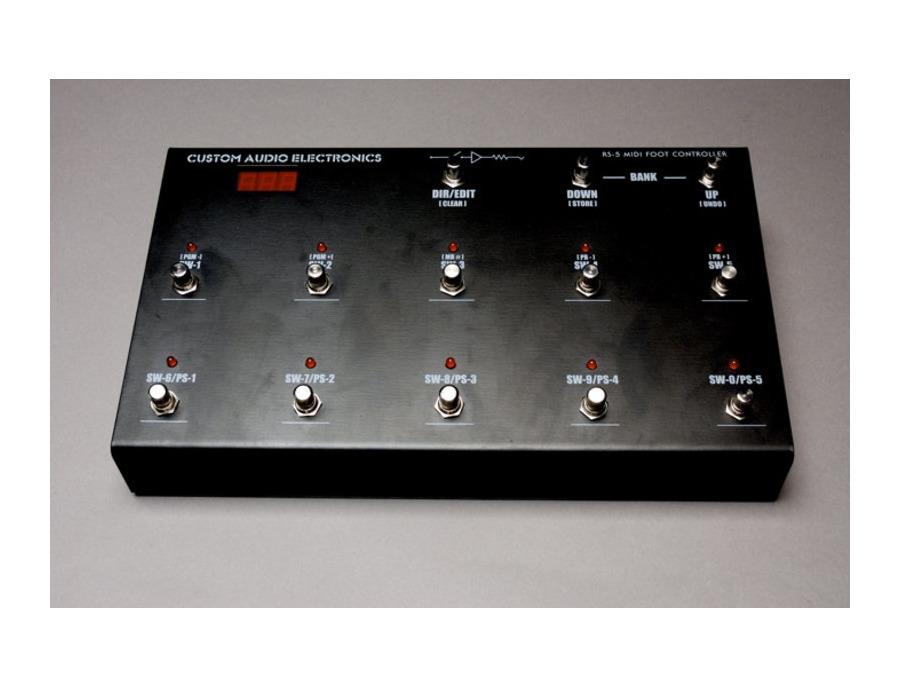 Custom Audio Electronics RS-5 MIDI Foot Controller
