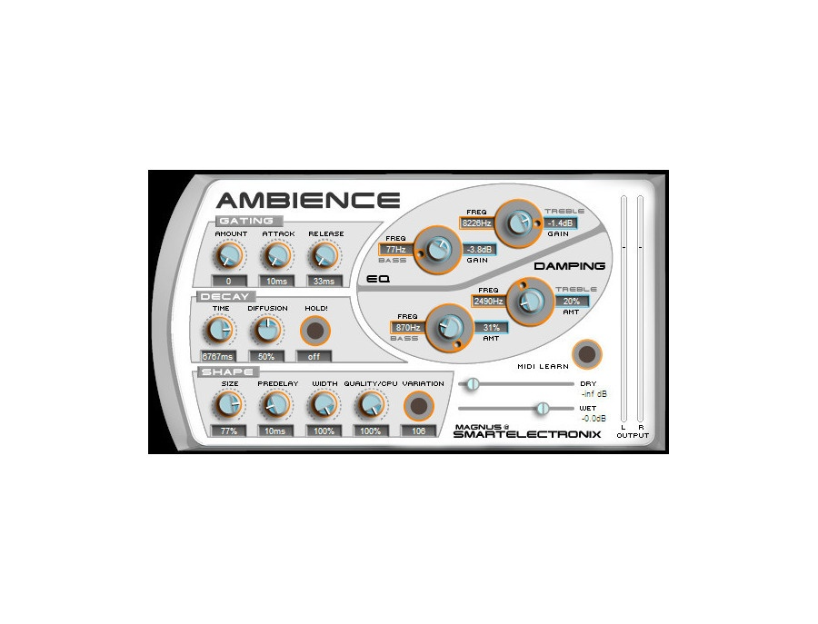 Smartelectronix ambience xl