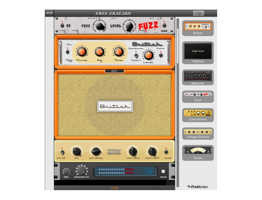 Plektron guitar amp 2 free edition xl