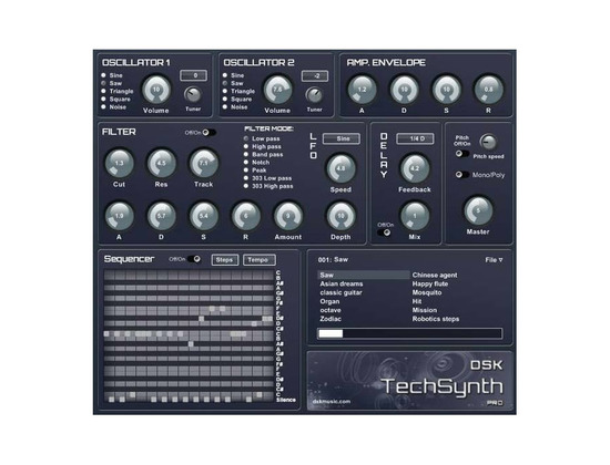 DSK Music DSK TechSynth Pro
