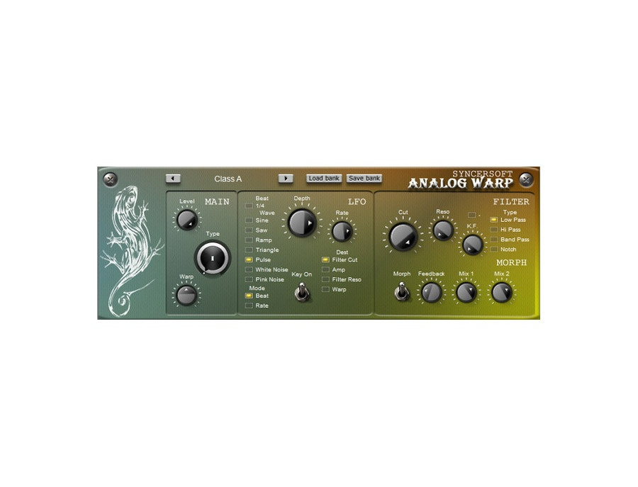Syncersoft Analog Warp