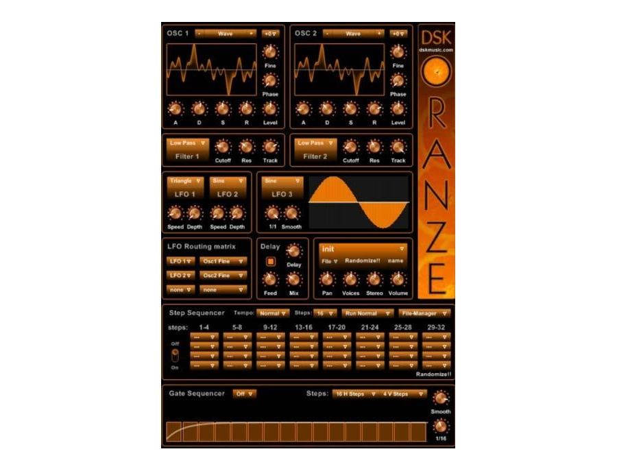 DSK Music DSK OranZe