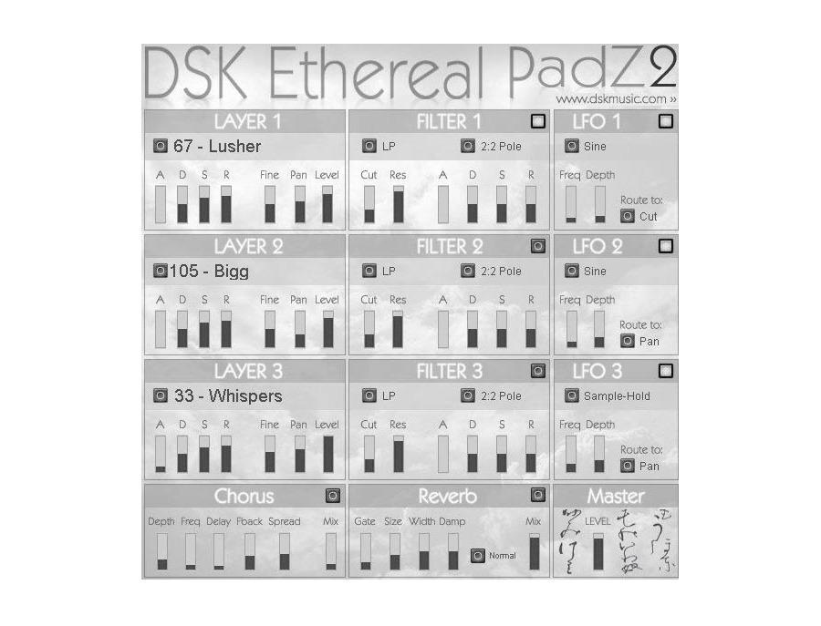 Dsk music dsk ethereal padz 2 xl