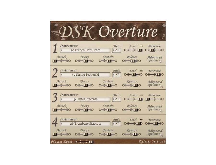Dsk music dsk overture xl