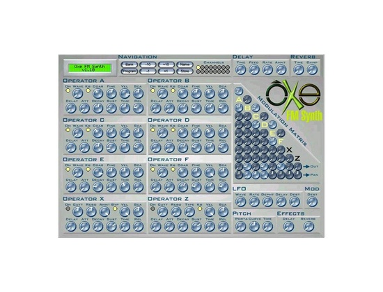 Oxe Oxe FM Synth