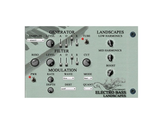 Syncersoft Electro Bass Landscapes