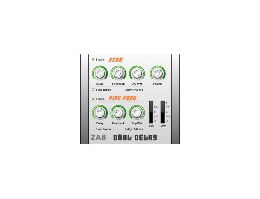 7air Media ZA8 Dual Delay
