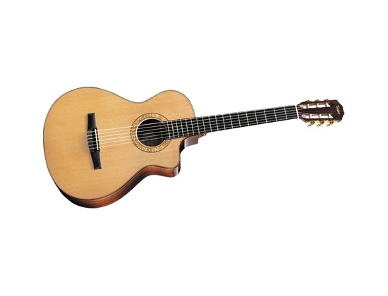 Taylor NS72ce Grand Concert Cutaway Nylon-String Acoustic-Electric Guitar