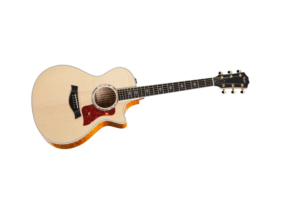 Taylor 612ce maple spruce grand concert acoustic electric guitar xl