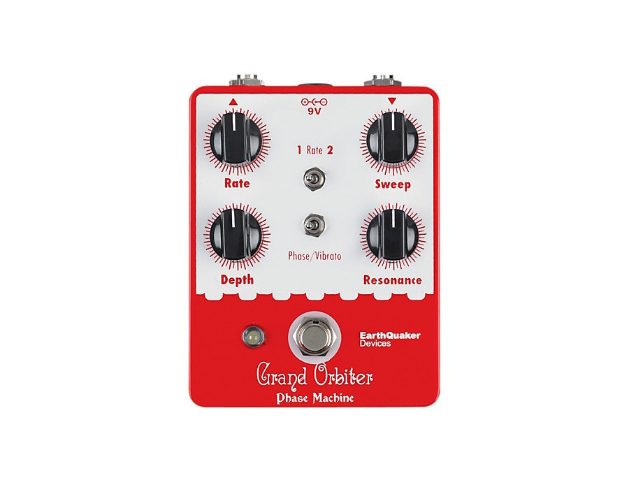 Earthquaker devices grand orbiter phaser pedal xl