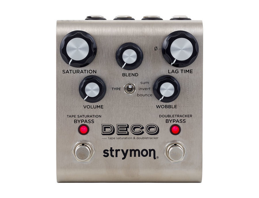 Strymon deco tape saturation doubletracker xl