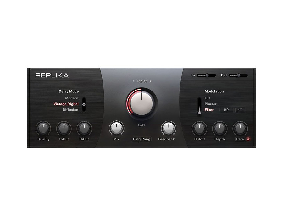 Native Instruments Replika Delay Plugin