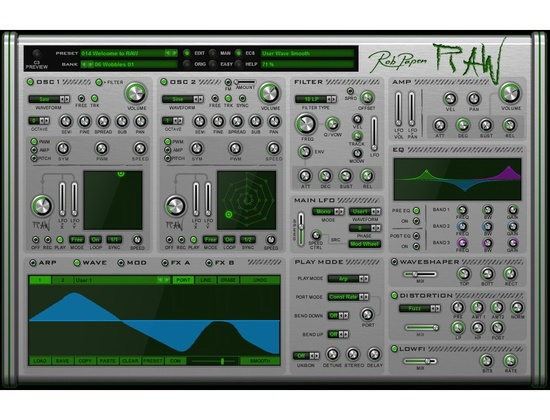 Rob Papen RAW