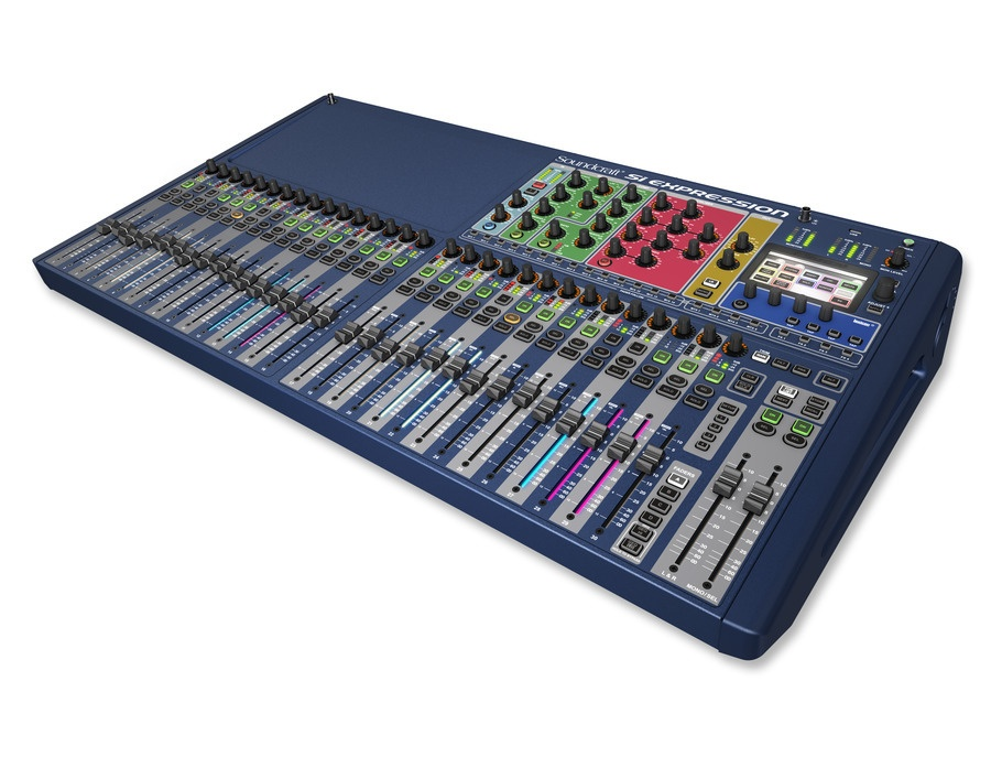 Soundcraft Si Expression 3 32-Channel Digital Console