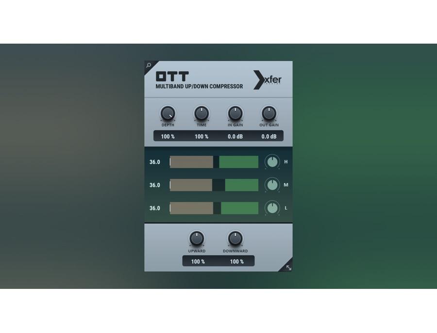 Xfer records ott multiband compressor plugin xl