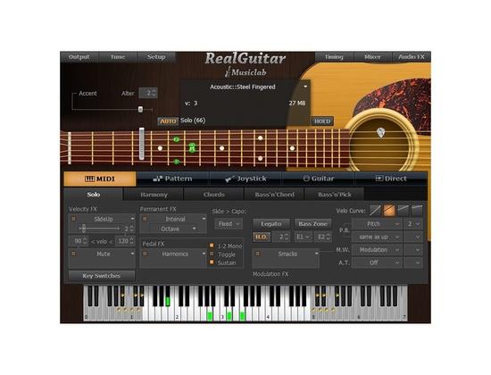 MusicLab RealGuitar
