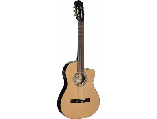 Stagg Electro Acoustic Classical guitar Cutaway & 4-band EQ C546T