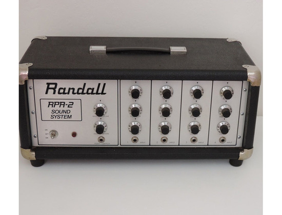 Randall RPA-2 Sound System