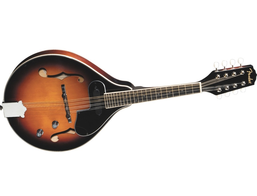 Fender fm 52e acoustic electric mandolin xl