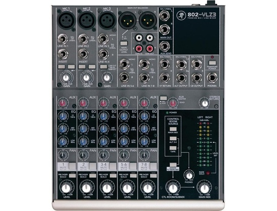 Mackie 802-VLZ3 Mixer