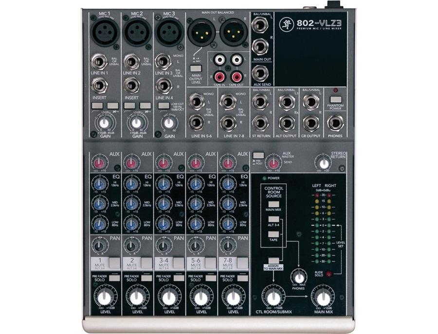 Mackie 802 vlz3 mixer xl