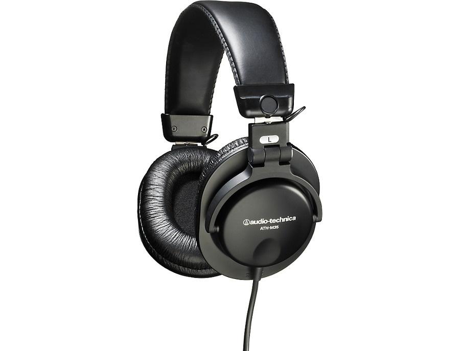 Audio technica ath m35 studio headphones xl