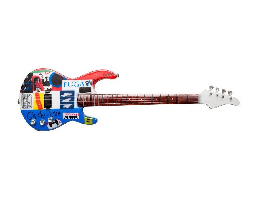 Custom modulus flea punk bass xl