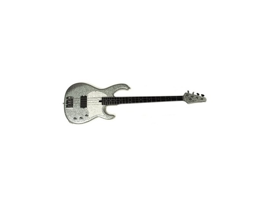 Modulus Funk Unlimited 5 String Silver Bass
