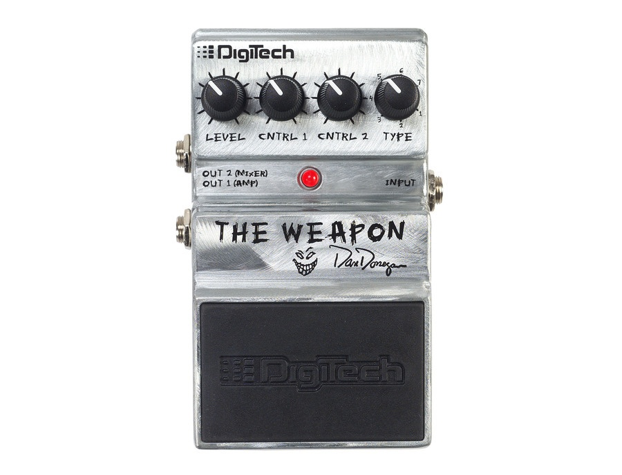 "Digitech Dan Donegan ""The Weapon"" Pedal"