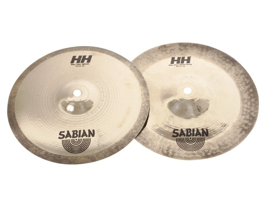 """Sabian 10"""" HH Mid Max Stax"""