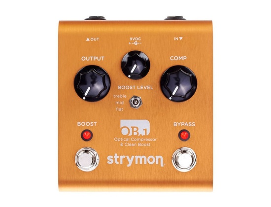 Strymon OB.1 Optical Compressor and Clean Boost Pedal