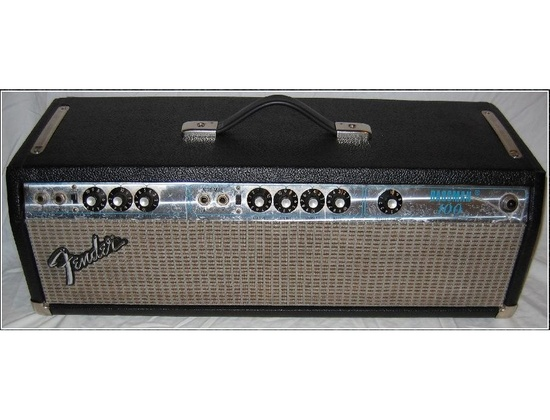 Fender Bassman 100, 1972
