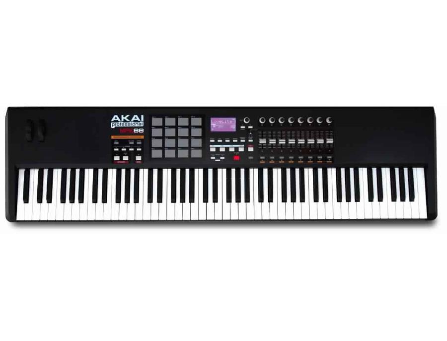 Akai professional mpk88 keyboard and usb midi controller xl