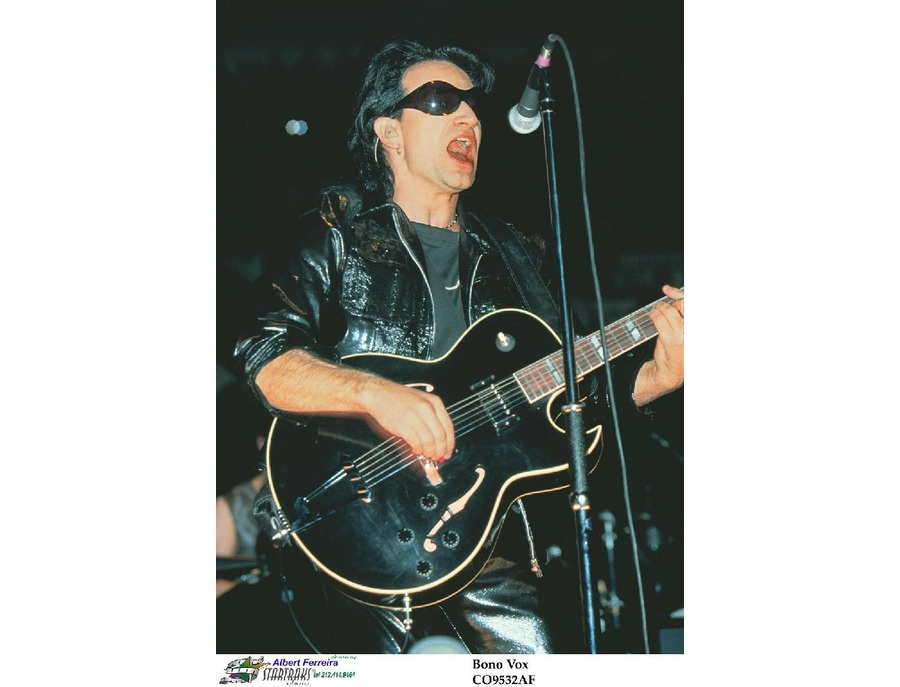 Bono's Custom Gibson ES-175 Electric Guitar