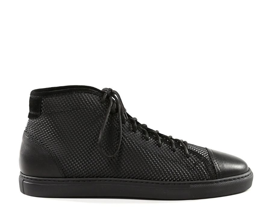 Pollini Black Sneakers