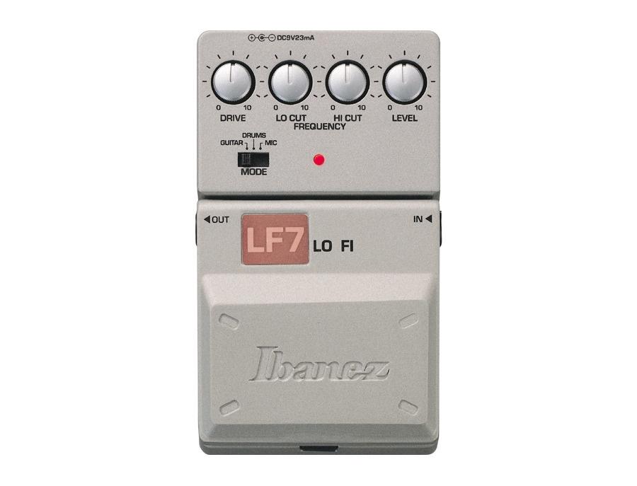 Ibanez tone lok lf7 lo fi filter pedal xl