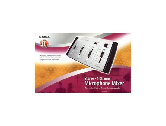 Radioshack 4-Channel Stereo Mixer