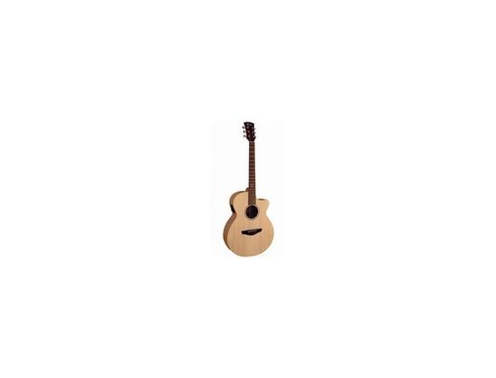 Faith FKv Naked Venus Concert Cutaway/Electro Guitar