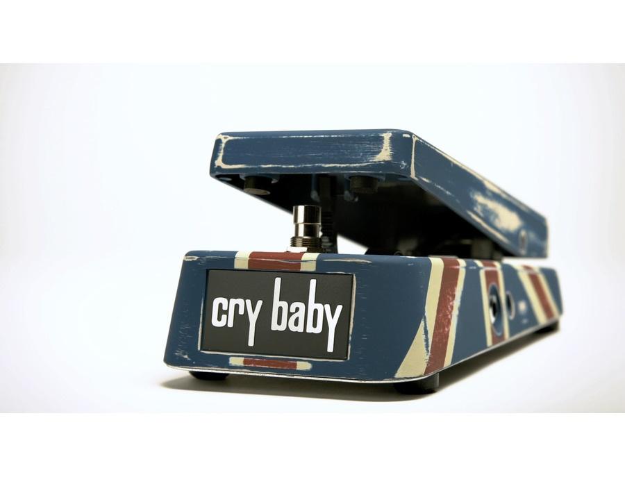 Jim dunlop british invasion cry baby wah pedal xl