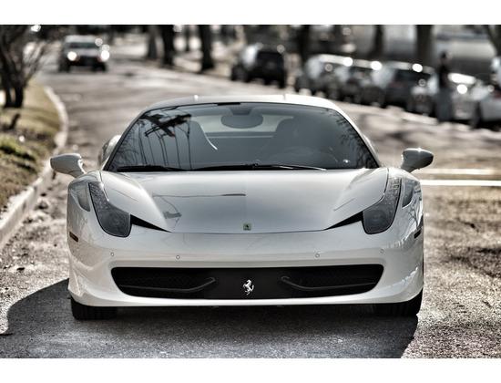 Ferrari 458 Italia (White)