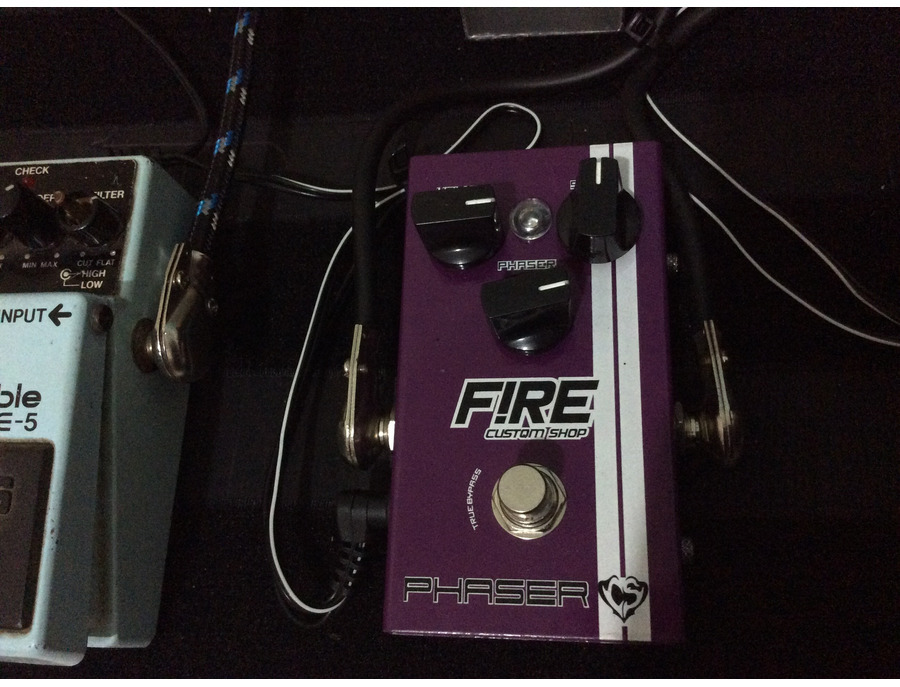 Fire custom shop Phaser Cacau Santos signature