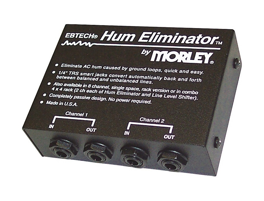 Ebtech 2 channel hum eliminator xl